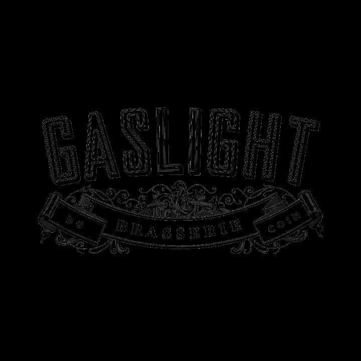 Gaslight Brasserie restaurant logo